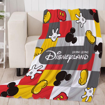 Mickey Mouse Classic Soft Throw Blanket Fit Couch Sofa Suitable for All Season