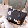 Mickey&Minnie Style Classic Leather Shoulder Bag *Limited Edition - Handbag - ustreetstyle