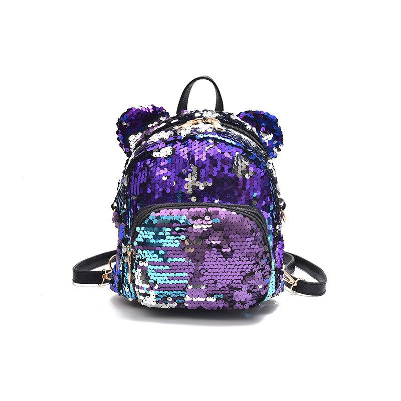 e358266333c Minnie Mouse Potion Sequined Mini Backpack - Backpack - ustreetstyle