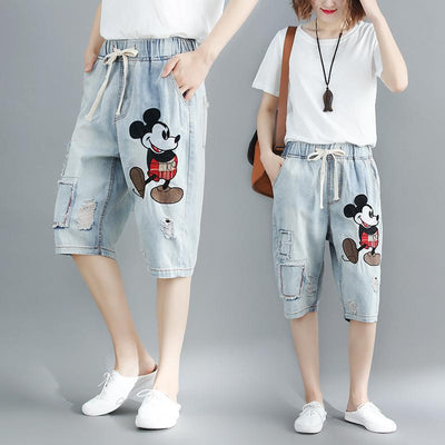 Mickey Classic Summer Shorts - Pants - ustreetstyle