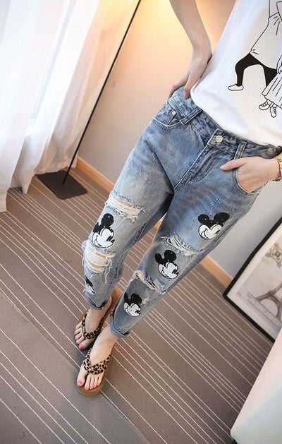 Mickey Classic Jeans - Pants - ustreetstyle