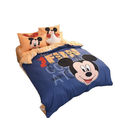 Mickey Kiss Minnie Bedding Set-H