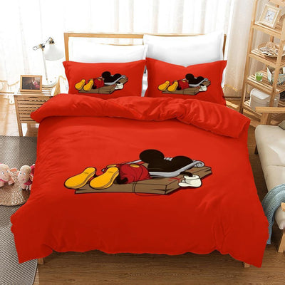 Mickey & Minnie Mouse Bedding Set 17 Accessories 1928Mickey Twin D