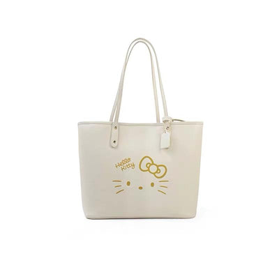 2Pcs Kitty Leather Handbag