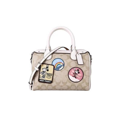 Mickey Style Classic Leather Handbag *Limited Edition
