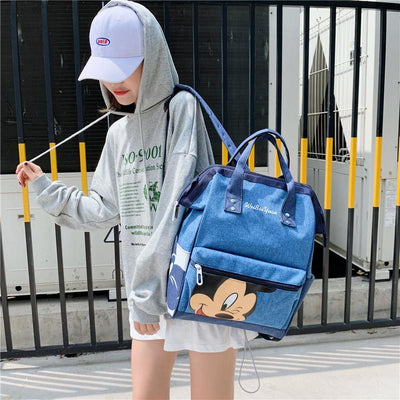 Fashion Mickey Mouse Waterproof Large Capacity Backpack *3 Colors Option - Backpack - ustreetstyle