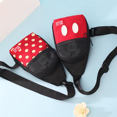 Cute Mickey Minnie Travel Streetstyle Crossbody Bag - Crossbody Bag - ustreetstyle