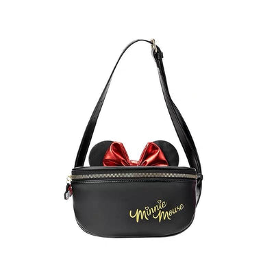 Mickey & Minnie Leather Crossbody Bag