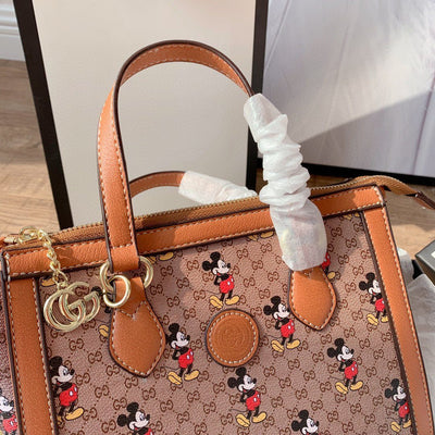 Mickey Mouse Leather Tote Bag *Limited Edition