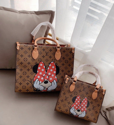2020 Minnie Mouse Leather Large Capacity Tote Bag *Limited Edition