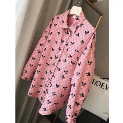 Mickey Mouse Oversize Summer Shirt
