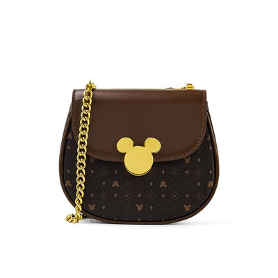 Mickey Mouse Classic Edition Leather Crossbody Bag