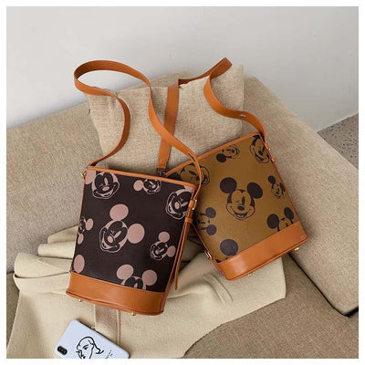Iconic Mickey Leather Handbag