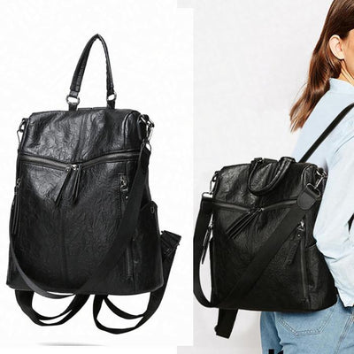 Women Multi-function Vintage Backpack - Backpack - ustreetstyle