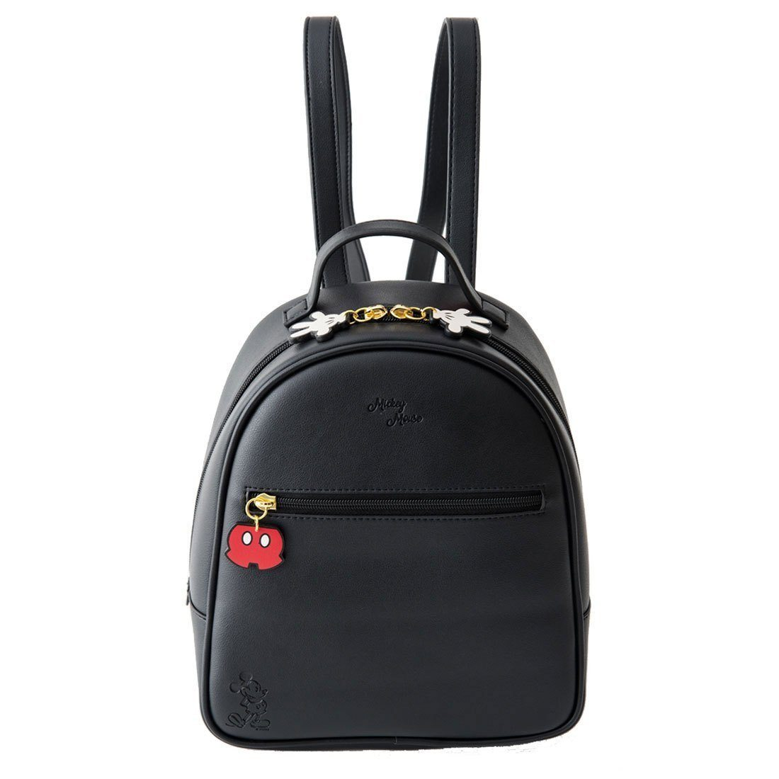2a119096ffd Mickey Minnie Daisy Style Leather Backpack