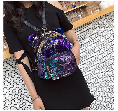 Minnie Mouse Potion Sequined Mini Backpack - Backpack - ustreetstyle