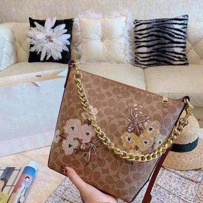 Summer Flower Fashion Women Shoulder Bag *Limited Edition -  - ustreetstyle