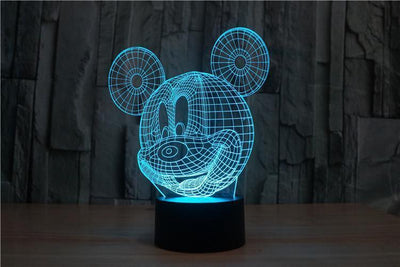 Mickey Mouse 3D LED Lamp - Accessories - ustreetstyle