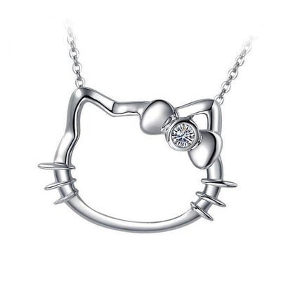 Hello Kitty Charm Pendant Necklace Chain - Hello Kitty - ustreetstyle