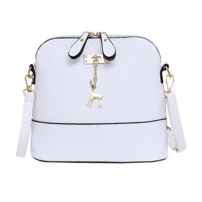 Fashion Messenger With Deer Toy Shell Shape Bag - Crossbody Bag - ustreetstyle