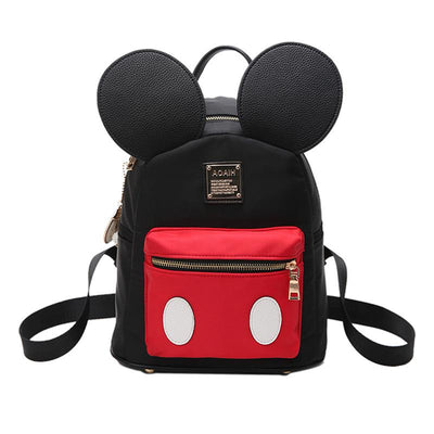 Cute Mickey Mouse Style High-Quality Ear Backpack For Girls - Backpack - ustreetstyle