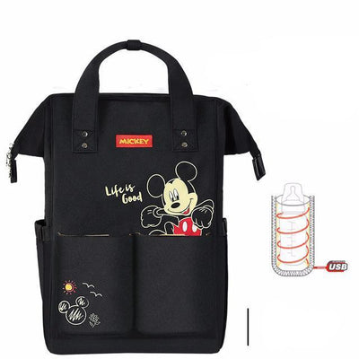 Cute Mickey & Minnie Mouse Style Diaper Bag - Diaper Bag - ustreetstyle