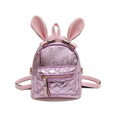 Cute Autumn And Winter Girls Rabbit Ear Bag - Backpack - ustreetstyle