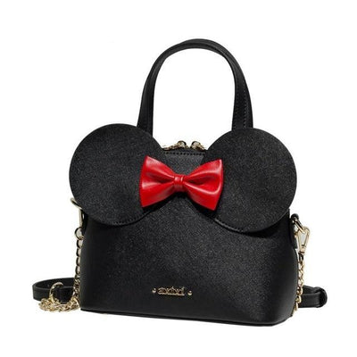 Fashion  Mickey Minnie Style High-Quality Leather Shoulder Bag - Handbag - ustreetstyle