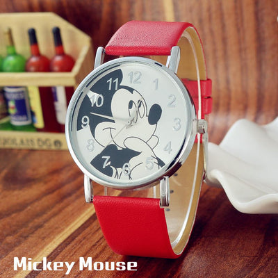 Mickey Mouse Style Casual Watch - Accessories - ustreetstyle