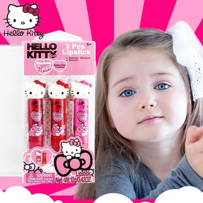 Hello Kitty Lip Gloss Cosmetics Kit for Girls - Hello Kitty - ustreetstyle