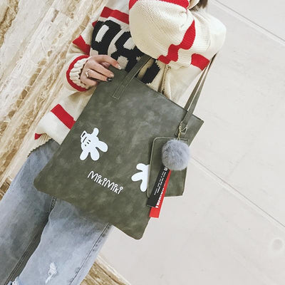 Mickey mouse High capacity Shoulder Bag - Handbag - ustreetstyle