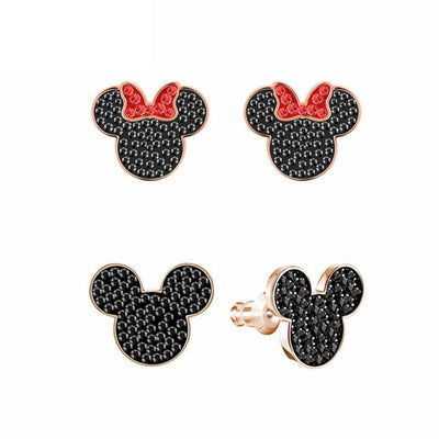 Mickey Minnie Mouse Stud Earrings -  - ustreetstyle