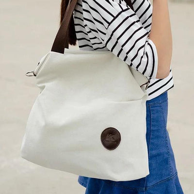 Canvas Shoulder Cross Body Bag - Handbag - ustreetstyle