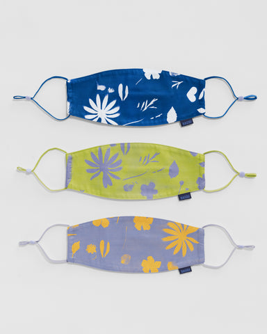 Ear Loop Mask Set - Floral Sun Prints