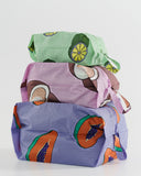 BAGGU 3D Zip Set Tropical Fruit Daisy Singapore RALLY RALLY