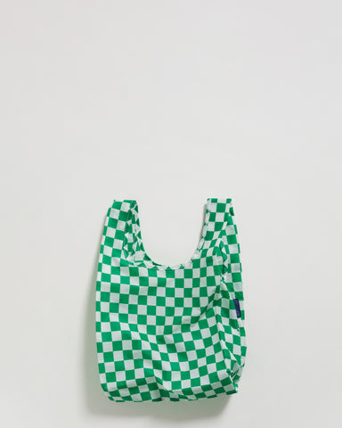 Baby BAGGU Reusable Bag Singapore Rally Rally Green Checkerboard