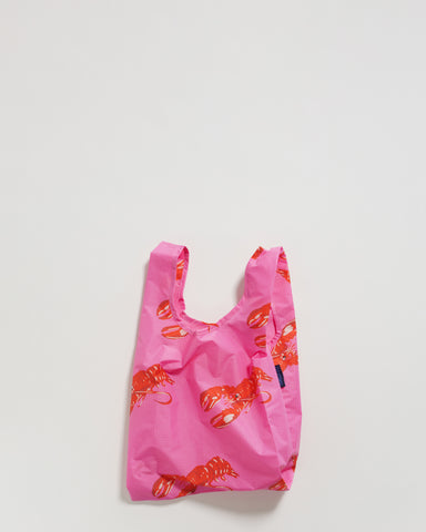 Baby BAGGU Reusable Bag Singapore Rally Rally Pink Lobster