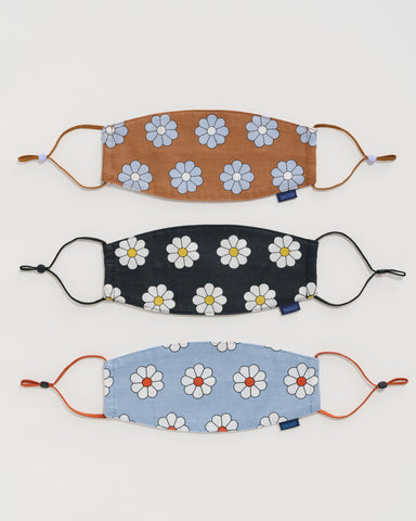 Ear Loop Mask Set - Daisy