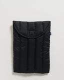 "BAGGU Puffy Laptop Sleeve 13"" Black - RALLY RALLY Singapore"