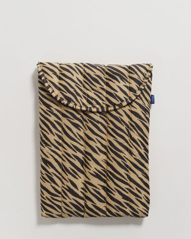 "BAGGU Puffy Laptop Sleeve 13"" Tiger Stripe - RALLY RALLY"