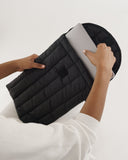 "BAGGU Puffy Laptop Sleeve 16"" Black - RALLY RALLY Singapore"