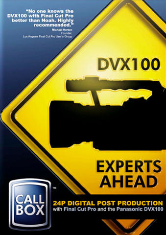 24P Digital Post Production with Final Cut Pro and the DVX100