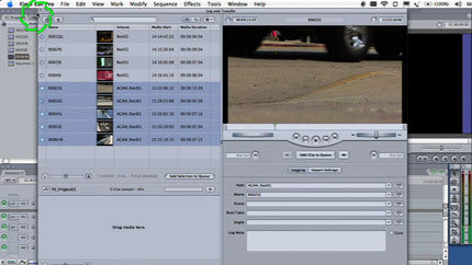Panasonic P2 Workflow with Final Cut Pro and the HVX200