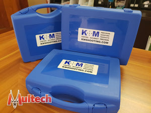 K&M Plastic Carry Case With Foam Insert