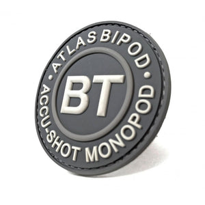BT60 B&T Gray Logo Patch