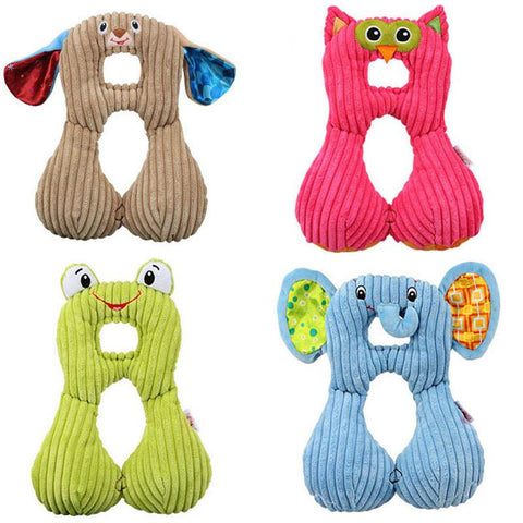 0-6 years Baby Stroller Accessories Pillow Cushion Pad Baby Neck Cartoon Pillow U-shaped Travel Pillow car seat cushion pillow