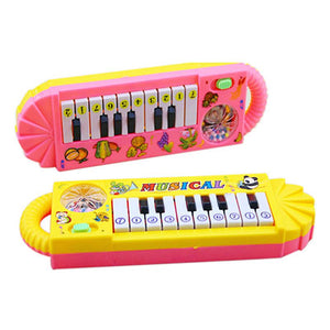 0-7age Baby Infant Musical Piano Developmental Toy Toddler Kids Early Educational Musical Instrument M0073 P15 0.5