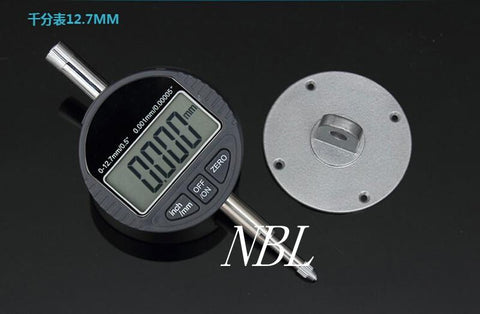 "0.001mm Electronic Micrometer 0.00005"" Digital Micrometro Metric Inch Range 0-12.7mm 0.5"" Dial Indicator Gauge"
