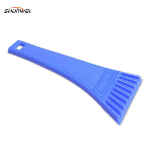 18 * 8cm Blue Car vehicle Snow Ice Scraper SnoBroom Snowbrush Shovel Removal Brush Winter Top Quality ABS