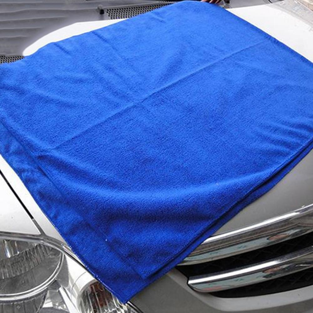 1pc 30*30cm Microfiber Absorbent Cleaning Car Detailing Soft Cloths Wash Towel